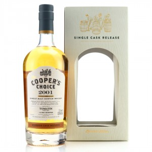Tomatin 2001 Cooper's Choice 16 Year Old