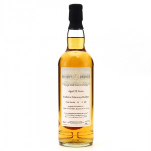 Tobermory 1995 Whisky Broker 25 Year Old