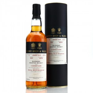 Berry Brothers and Rudd 1979 Single Sherry Cask Blend / RMW