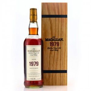 Macallan 1979 Fine and Rare 40 Year Old #2803 75cl / US Import