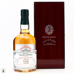 Banff 1975 Hunter Laing 40 Year Old / Old and Rare