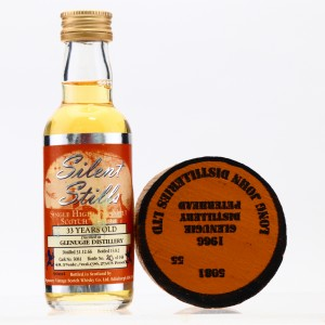 Glenugie 1966 Signatory Vintage 33Year Old Miniature with Bung