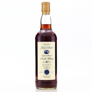John Scott's 35 Year Old Scotch Whisky / Highland Park & Invergordon