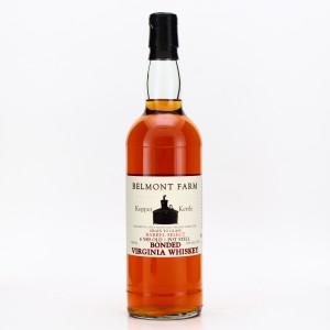 Belmont Farm 6 Year Old Kopper Kettle Bonded Virginia Whiskey