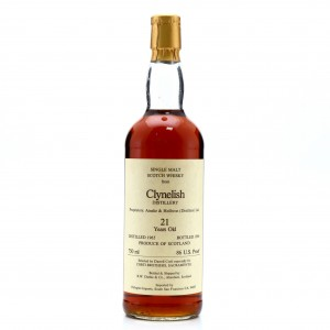 Clynelish 1965 R.W. Duthie for Corti Brothers 21 Year Old / US Import
