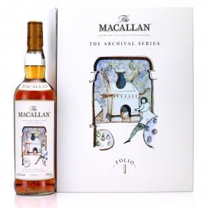 Macallan Archival Series Folio 1