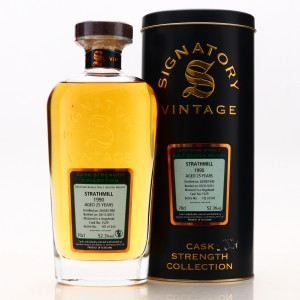 Strathmill 1990 Signatory Vintage 25 Year Old Cask Strength