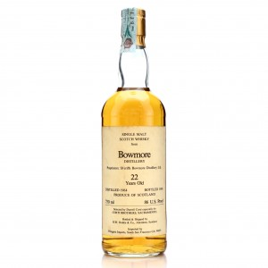 Bowmore 1964 R.W. Duthie for Corti Brothers 22 Year Old / US Import