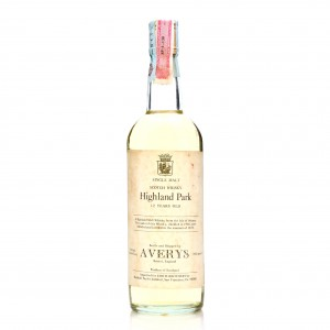 Highland Park 1966 Averys for Corti Brothers 12 Year Old / US Import