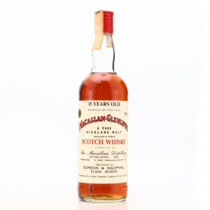 Macallan 15 Year Old Gordon and MacPhail 1980s / Co. Pinerolo Import