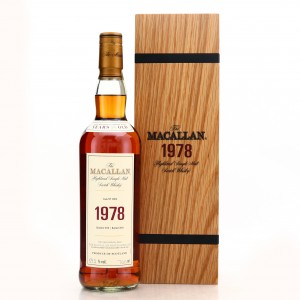 Macallan 1978 Fine and Rare 39 Year Old #13810