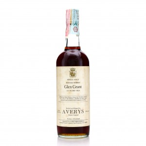 Glen Grant 1967 Averys for Corti Brothers 10 Year Old / US Import