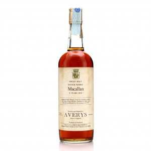 Macallan 1969 Averys for Corti Brothers 8 Year Old / US Import