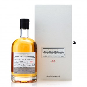 Ghosted Reserve 21 Year Old Rare Cask Reserves / Release 2
