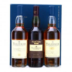 Talisker Gift Pack 3 x 20cl / Including Distillers 2010 Edition