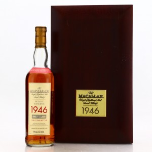 Macallan 1946 Select Reserve 52 Year Old 75cl