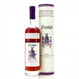 Willett Family Estate 21 Year Old Single Barrel Bourbon #C13D / Signed by Even Kulsveen