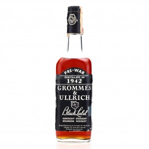 Grommes and Ullrich 1942 Black Label Kentucky Straight Bourbon