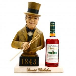 David Nicholson '1843' 1972 Bottled in Bond 7 Year Old 1 Litre with Bust / Stitzel-Weller