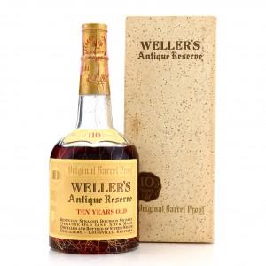 Weller's Antique Reserve 10 Year Old Original 110 Barrel Proof 1965 / Stitzel-Weller