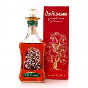 Old Fitzgerald 1964 Bottled in Bond 6 Year Old 100 Proof Golden Bough Decanter / Stitzel-Weller