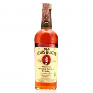 Old Lewis Hunter 6 Year Old Kentucky Straight Bourbon 1974