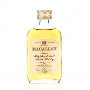 Macallan 12 Year Old 100 Proof Miniature