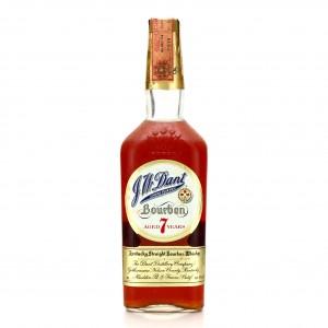 J.W. Dant 7 Year Old Kentucky Straight Bourbon 1966