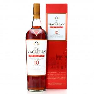 Macallan 10 Year Old Cask Strength 1 Litre / 58.6%