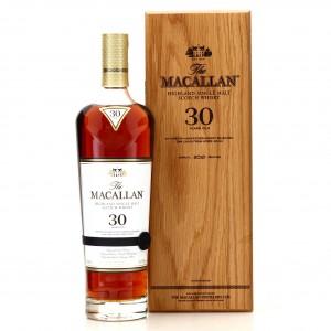 Macallan 30 Year Old Sherry Oak 2021 Release