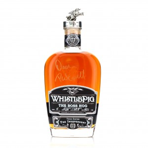 Whistlepig 14 Year Old Single Barrel Rye / The Boss Hog 3rd Edition - Signed by Dave Pickerell