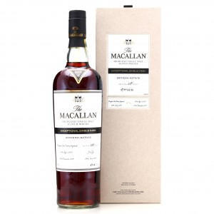 Macallan 2005 Exceptional Cask #6270-12 75cl/ 2017 Release - US Import