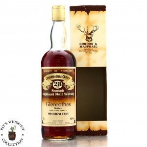 Glenrothes 1954 Gordon and MacPhail 28 Year Old