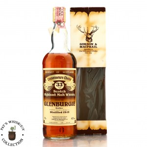*Glenburgie 1949 Gordon and MacPhail 33 Year Old / Co. Pinerolo Import