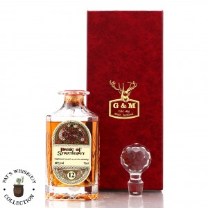 Pride of Strathspey 12 Year Old Gordon and MacPhail ' Book of Kells' Decanter