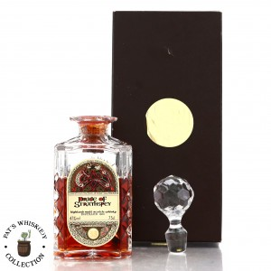 Pride of Strathspey 1950 Gordon and MacPhail 33 Year Old ' Book of Kells' Decanter
