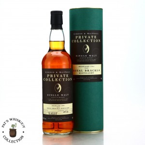 Royal Brackla 1964 Gordon and MacPhail 40 Year Old Private Collection