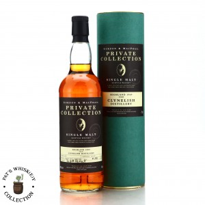 Clynelish 1969 Gordon and MacPhail 35 Year Old Private Collection