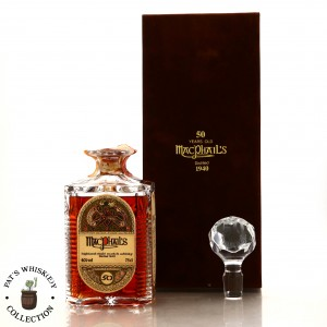MacPhail's 1940 Gordon and MacPhail 50 Year Old 'Book of Kells' Decanter