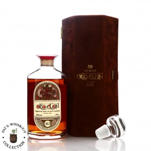 Old Elgin 1940 Gordon and MacPhail 50 Year Old 'Book of Kells' Decanter