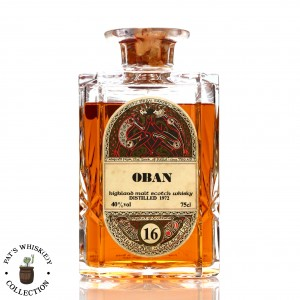 Oban 1972 Gordon and MacPhail 16 Year Old 'Book of Kells' Decanter
