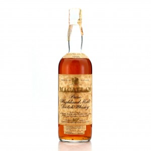 Macallan 1946 Campbell, Hope and King 80 Proof / Rinaldi Import