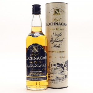 Royal Lochnagar 12 Year Old John Begg 1980s / German Import