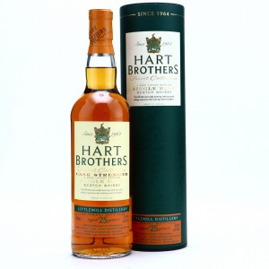 Littlemill 1989 Hart Brothers 25 Year Old / North Sea Bottlers
