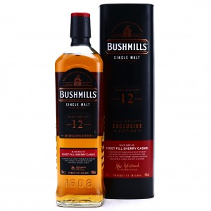 Bushmills 12 Year Old First Fill Sherry Casks