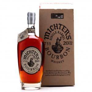Michter's 20 Year Old Single Barrel Bourbon 2015