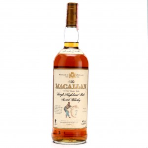 Macallan 7 Year Old Armando Giovinetti Special Selection 1 Litre early 2000s