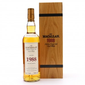Macallan 1988 Fine and Rare 23 Year Old #12202