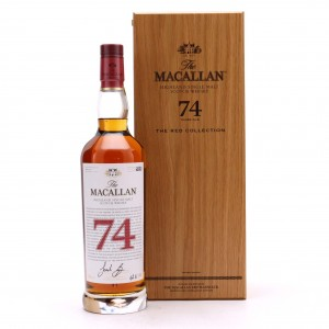 Macallan 74 Year Old The Red Collection