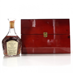 Macallan 1940 Gordon and MacPhail Decanter for Edoardo Giaccone / Queen Mother 80th Birthday